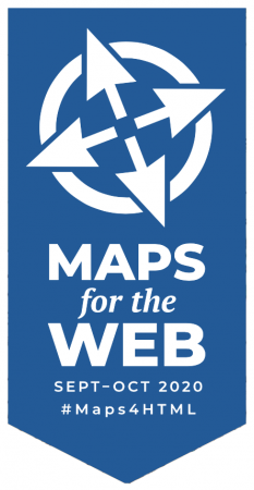Maps for the Web Logo